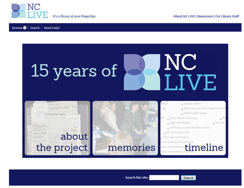 Charles W. Chesnutt Library celebrates 15 years of NC LIVE!